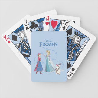 Frozen | Elsa, Anna & Olaf Bicycle Playing Cards