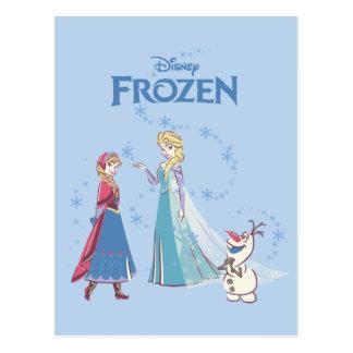 Frozen | Elsa, Anna & Olaf Postcard