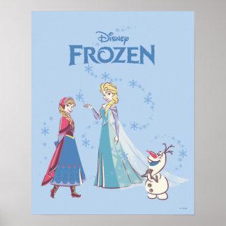 Frozen | Elsa, Anna & Olaf Poster