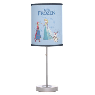 Frozen | Elsa, Anna & Olaf Table Lamps