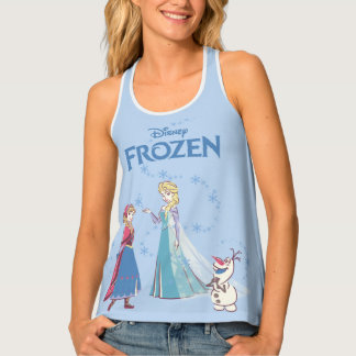 Frozen | Elsa, Anna & Olaf Tank Top
