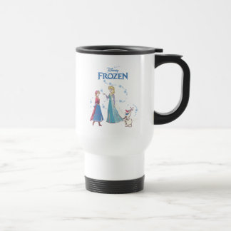 Frozen | Elsa, Anna & Olaf Travel Mug