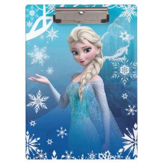 Frozen   Elsa Over the Shoulder Smirk Clipboards