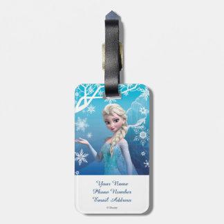 Frozen | Elsa Over the Shoulder Smirk Luggage Tag