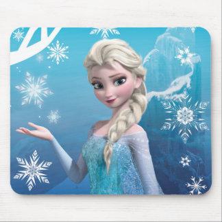 Frozen | Elsa Over the Shoulder Smirk Mouse Pad