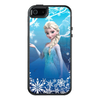 Frozen | Elsa Over the Shoulder Smirk OtterBox iPhone 5/5s/SE Case