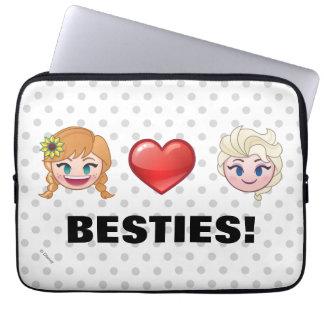 Frozen Emoji | Anna & Elsa Laptop Sleeve