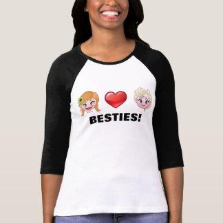 Frozen Emoji | Anna & Elsa T-Shirt
