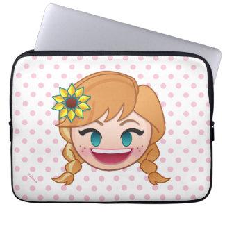 Frozen Emoji | Anna Laptop Sleeve