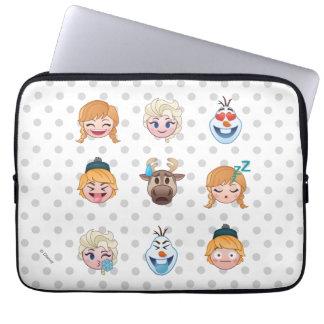 Frozen Emoji Characters Laptop Sleeve