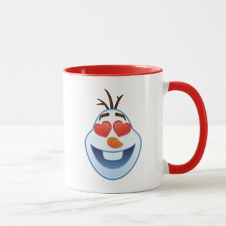 Frozen Emoji | Olaf with Heart-Shaped Eyes Mug