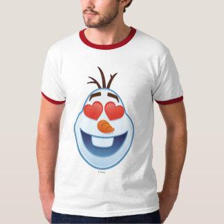 Frozen Emoji   Olaf with Heart-Shaped Eyes T-Shirt