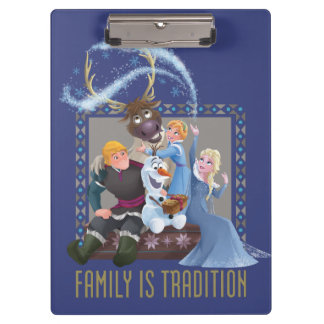 Frozen | Family is Tradition 2 Clipboard