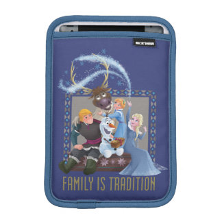 Frozen | Family is Tradition 2 iPad Mini Sleeve