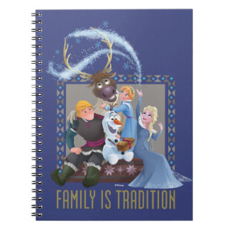 Frozen | Family is Tradition Spiral Notebook