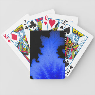 Frozen Flake Bicycle Playing Cards