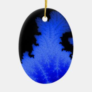 Frozen Flake Ceramic Ornament