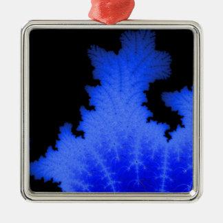 Frozen Flake Metal Ornament