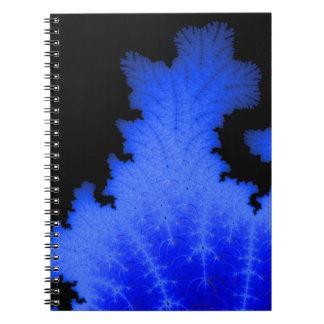 Frozen Flake Spiral Notebook