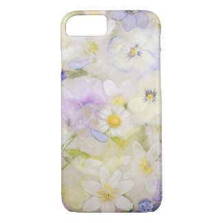Frozen flowers Case-Mate iPhone case