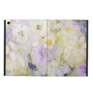Frozen flowers cover for iPad air