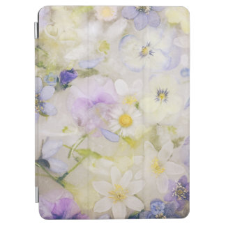 Frozen flowers iPad air cover