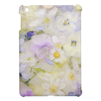 Frozen flowers iPad mini covers