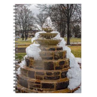 Frozen Fountain Notebook