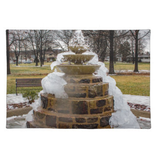 Frozen Fountain Placemat