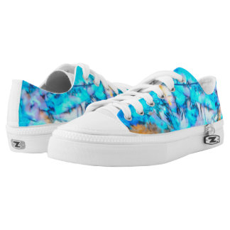 """frozen glow"" Low-Top sneakers"