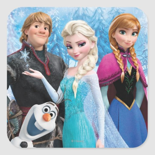 Frozen Group Stickers