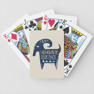 Frozen | I Goat Your Back Bicycle Playing Cards