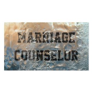 Frozen Ice Marriage Counseling Business Card