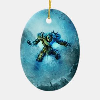 Frozen Knight ornament