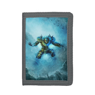 Frozen Knight TriFold Nylon Wallet