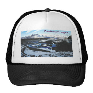Frozen Knik River Trucker Hat