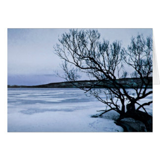 Frozen Lake Card