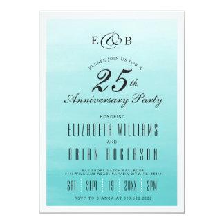 Frozen Lake Ombre | Anniversary Invitation