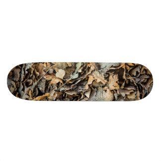Frozen Leaves Skate Decks