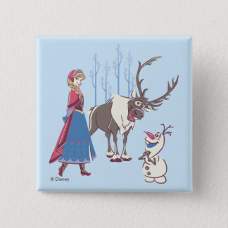 Frozen | Listen to your Heart 2 Inch Square Button