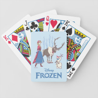 Frozen | Listen to your Heart Bicycle Playing Cards