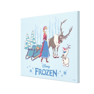 Frozen | Listen to your Heart Canvas Print