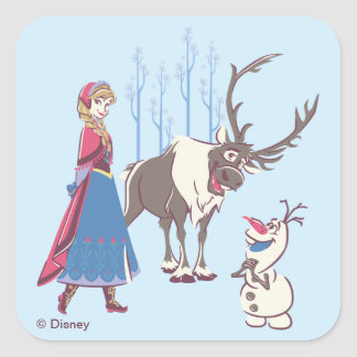 Frozen | Listen to your Heart Square Sticker