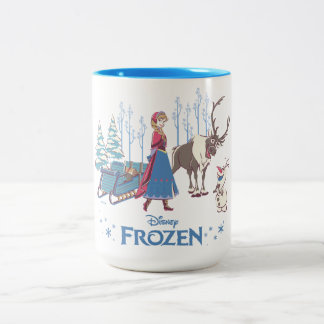 Frozen | Listen to your Heart Two-Tone Coffee Mug