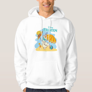 Frozen | Olaf Playing on the Beach Hoodie