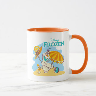 Frozen | Olaf Playing on the Beach Mug
