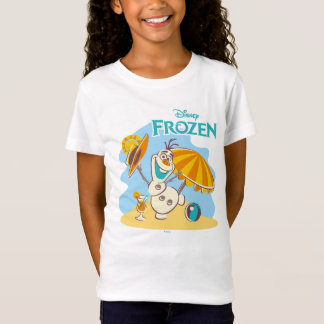 Frozen | Olaf Playing on the Beach T-Shirt