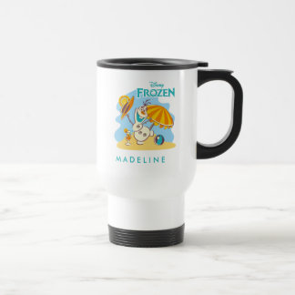 Frozen | Olaf Playing on the Beach Travel Mug