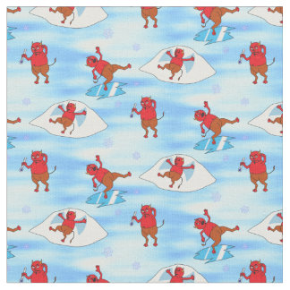Frozen Over Fabric