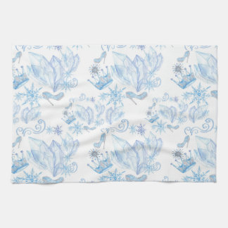 Frozen Pattern Kitchen Towel